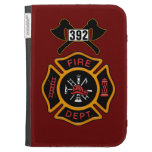 Fire Department Badge Case For Kindle