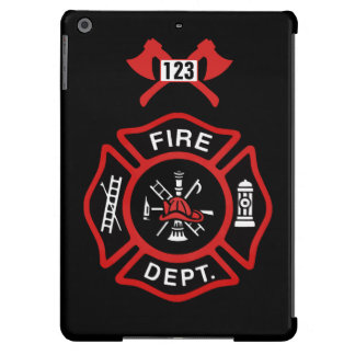 Fire Department Badge Cover For iPad Air