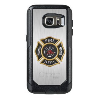 Fire Department Badge Deluxe OtterBox Samsung Galaxy S7 Case