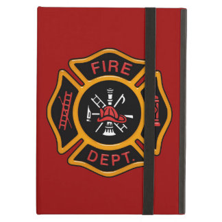 Fire Department Badge iPad Air Covers