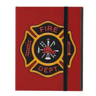Fire Department Badge iPad Covers