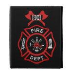 Fire Department Badge iPad Case