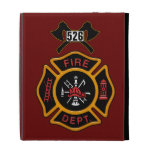 Fire Department Badge iPad Folio Covers