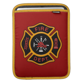 Fire Department Badge Sleeves For iPads