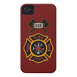 Fire Department Badge iPhone 4 Cover