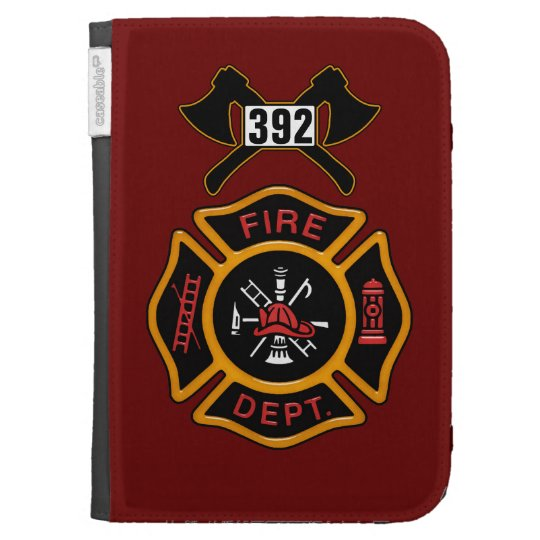 Fire Department Badge Kindle 3G Cover