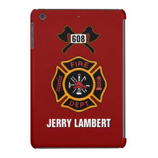 Fire Department Badge Name Template iPad Mini Cases