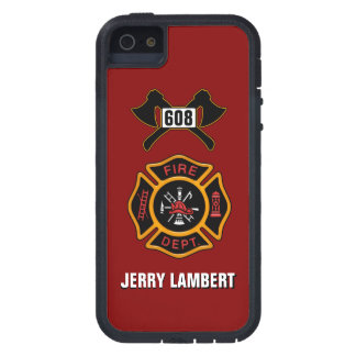 Fire Department Badge Name Template iPhone SE/5/5s Case