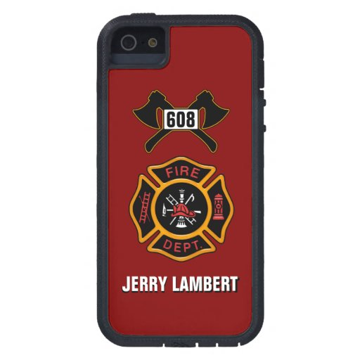 Fire Department Badge Name Template iPhone SE/5/5s Case ...