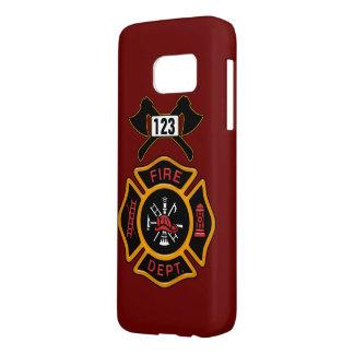 Fire Department Badge Samsung Galaxy S7 Case