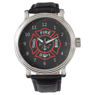 Fire Department Badge Watch