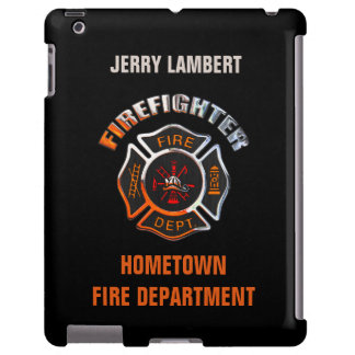 Fire Department Chrome Name Template