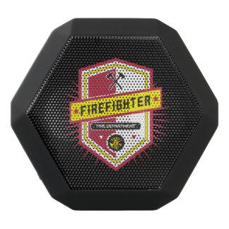 Fire Department Crest Black Bluetooth Speaker