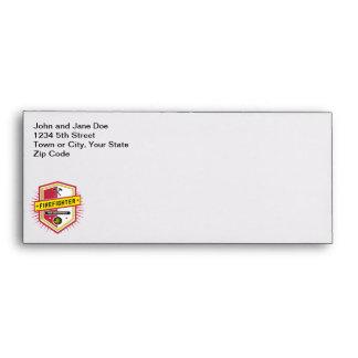 Fire Department Crest Envelope