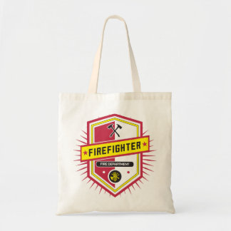 Fire Department Crest Tote Bag