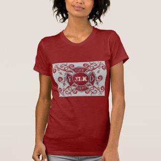 Fire Department Custom Monogram T-Shirt
