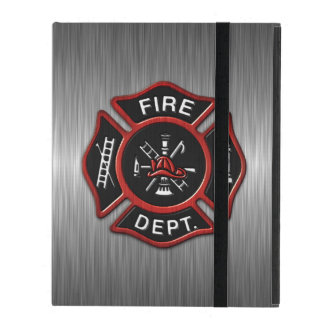 Fire Department Deluxe iPad Cover