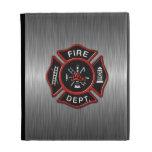 Fire Department Deluxe iPad Folio Covers