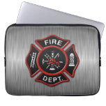 Fire Department Deluxe Laptop Computer Sleeves