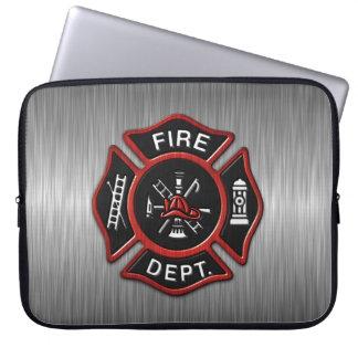 Fire Department Deluxe Laptop Sleeve