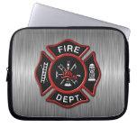 Fire Department Deluxe Laptop Sleeves