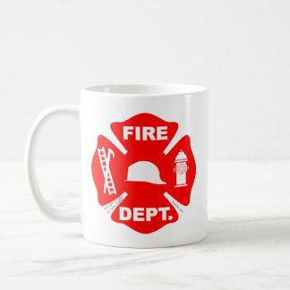 Fire Department Emblem - Mugs