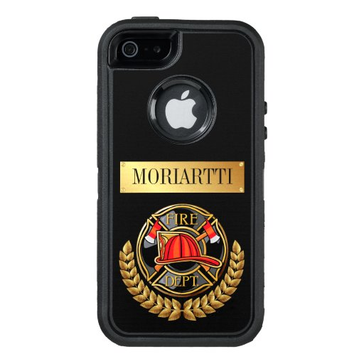 Fire Department Firefighter OtterBox iPhone 5/5s/SE Case
