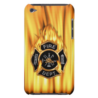 Fire Department Flames Barely There iPod Cover