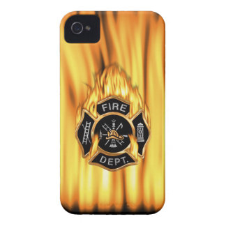 Fire Department Flames iPhone 4 Cover