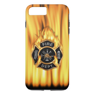 Fire Department Flames iPhone 7 Plus Case