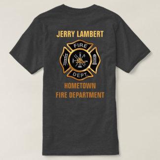Fireman t shirts shirt designs zazzle for Custom fire t shirts