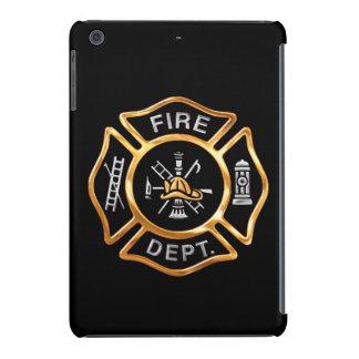 Fire Department Gold Badge iPad Mini Retina Cover