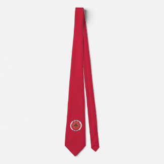 Fire Department Maltese Cross Custom Necktie