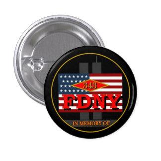 Fire Department New York Support Button