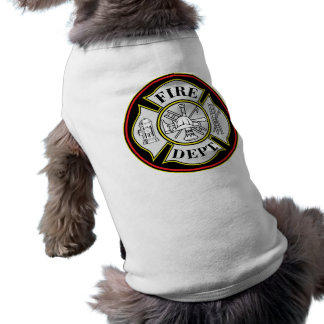 Fire Department Round Badge Tee
