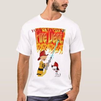 Fire Dept (add ur city) T-Shirt