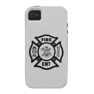 Fire Dept EMT Case-Mate iPhone 4 Covers