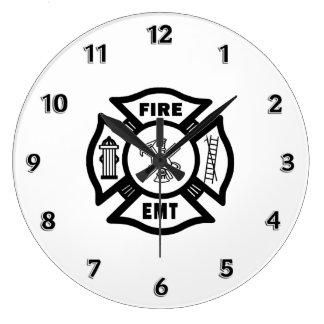 Fire Dept EMT Wallclock