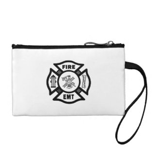 Fire Dept EMT Coin Purse