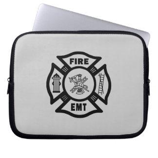 Fire Dept EMT Laptop Computer Sleeve