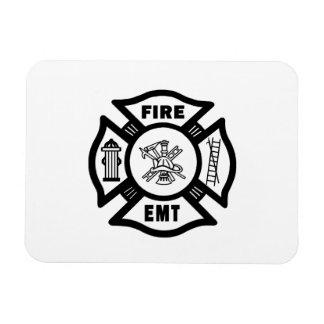 Fire Dept EMT Magnet
