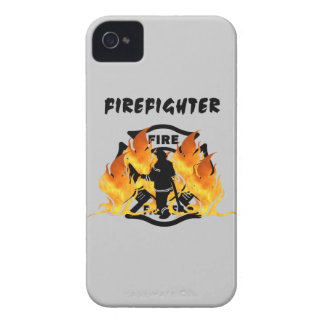 Fire Dept Flames iPhone 4 Covers