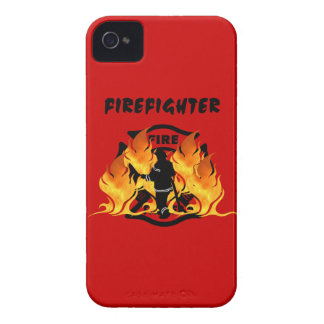 Fire Dept Flames Case-Mate iPhone 4 Cases