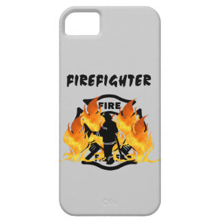 Fire Dept Flames iPhone 5 Cases
