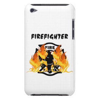 Fire Dept Flames Case-Mate iPod Touch Case