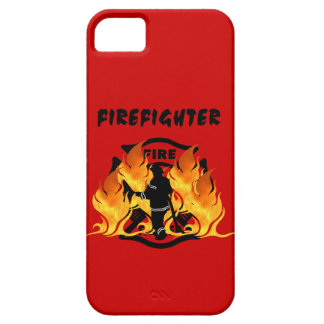 Fire Dept Flames iPhone 5 Covers