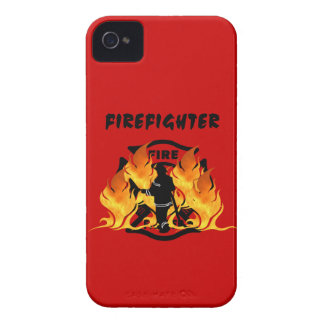 Fire Dept Flames iPhone 4 Cases