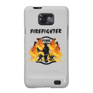 Fire Dept Flames Samsung Galaxy SII Cover