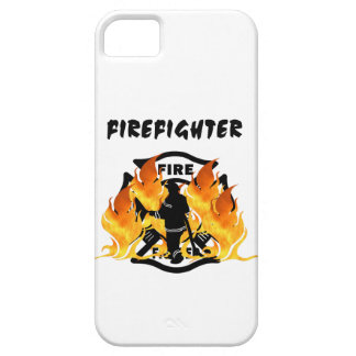 Fire Dept Flames iPhone 5 Cover