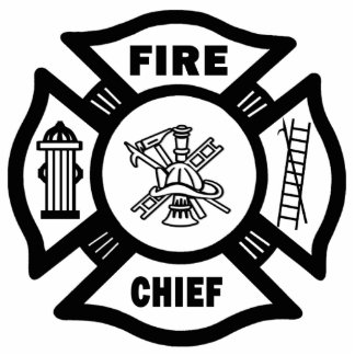 Fire Dept Flames Cutout